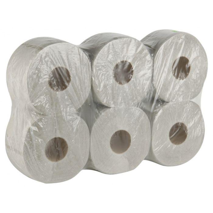 Toaletní papír Jumbo 190 - 2-vrstvý bílý - 6 ks