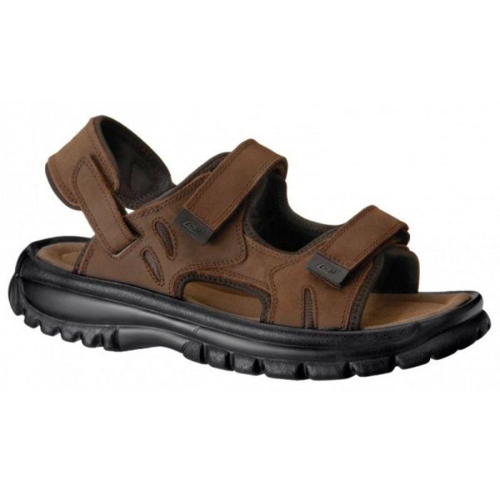 Vycházková obuv - sandál hnědý