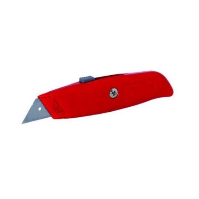 Nůž ulamovací kov pevný 1037 červený